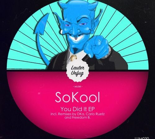 LUM030 SokooL – You Did it EP