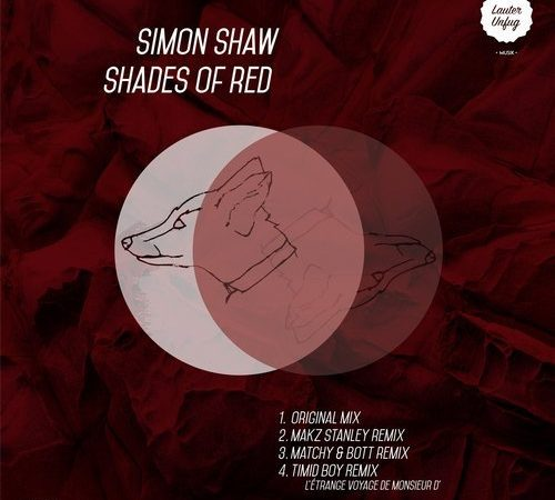 LUM006 Simon Shaw – Shades of Red EP